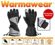Gants Chauffants de Sports à Piles Dual Fuel Burst Power - Gratuits HeatPack de Warmawear