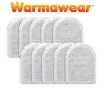 Heat Packs Chauffe-Orteils Jetables Warmawear™- 10 Paires