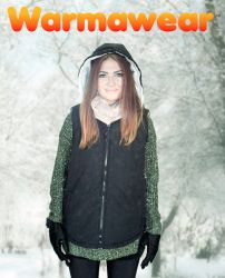 Gilet Chauffant à Piles à Capuche Warmawear™- Femme - Noir e0c60342b30