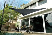 Voile d'Ombrage Coolaroo Charbon - Triangle 3.6m