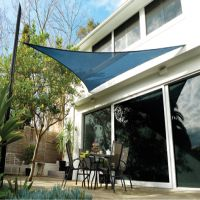 voile pare soleil coolaroo terracotta 79 99. Black Bedroom Furniture Sets. Home Design Ideas