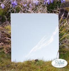 miroir de jardin en acrylique plaque simple rond 16in 39 99. Black Bedroom Furniture Sets. Home Design Ideas