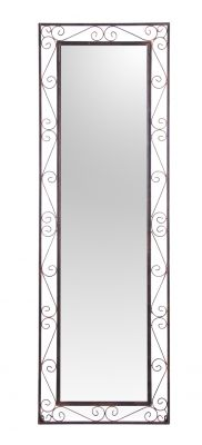 Grand Miroir Rectangulaire de Jardin en Métal Reflect™