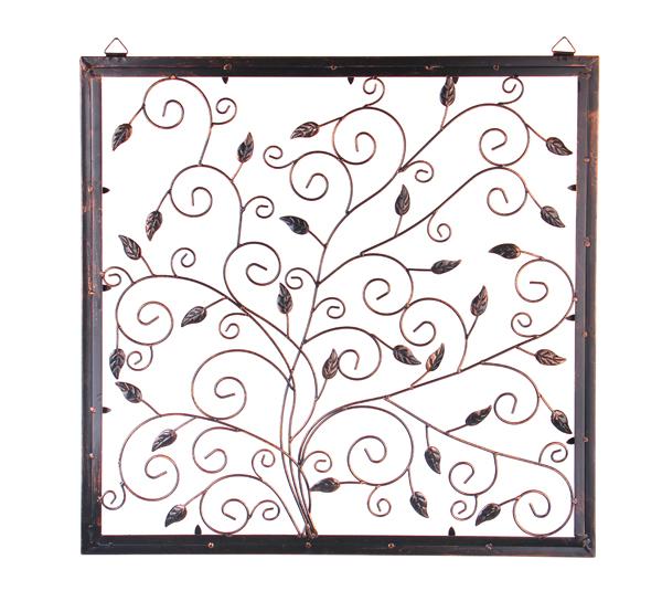 D coration murale arbre de la vie en m tal 69 99 for Decoration murale acier