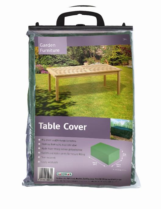 b che ultra r sistante pour table de jardin 4 personnes 202x102cmx69cm 36 99. Black Bedroom Furniture Sets. Home Design Ideas
