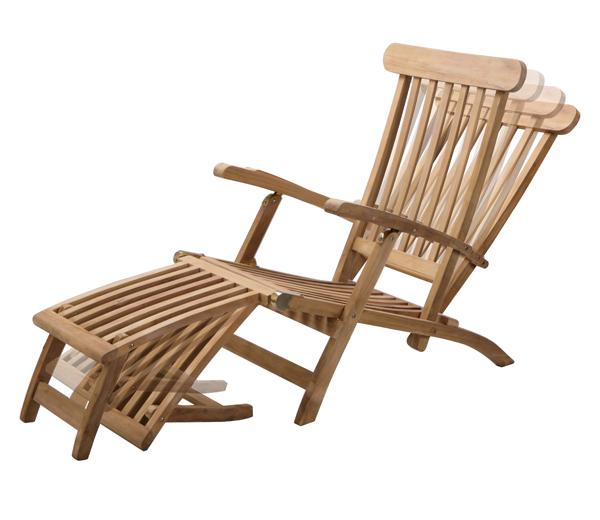 chaise longue aspen en teck de grade a - 1.6m 249,99 €