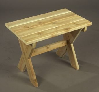 Table ADIRONDACK - Dim: 60x40x45 -Art & Jardin
