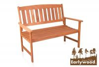 Banc Earlywood™  Richmond en Bois 2 Places – 1.2 m