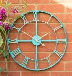 Horloge De Jardin En Métal Avec Finition Antique Patiné - 46cm  - About Time™