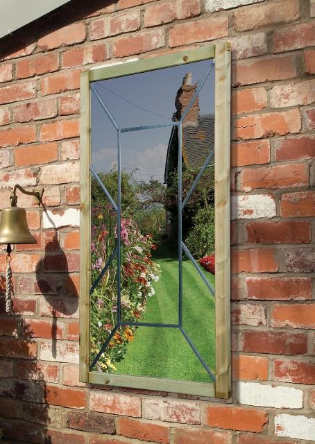 miroir de jardin perspective 144 99. Black Bedroom Furniture Sets. Home Design Ideas