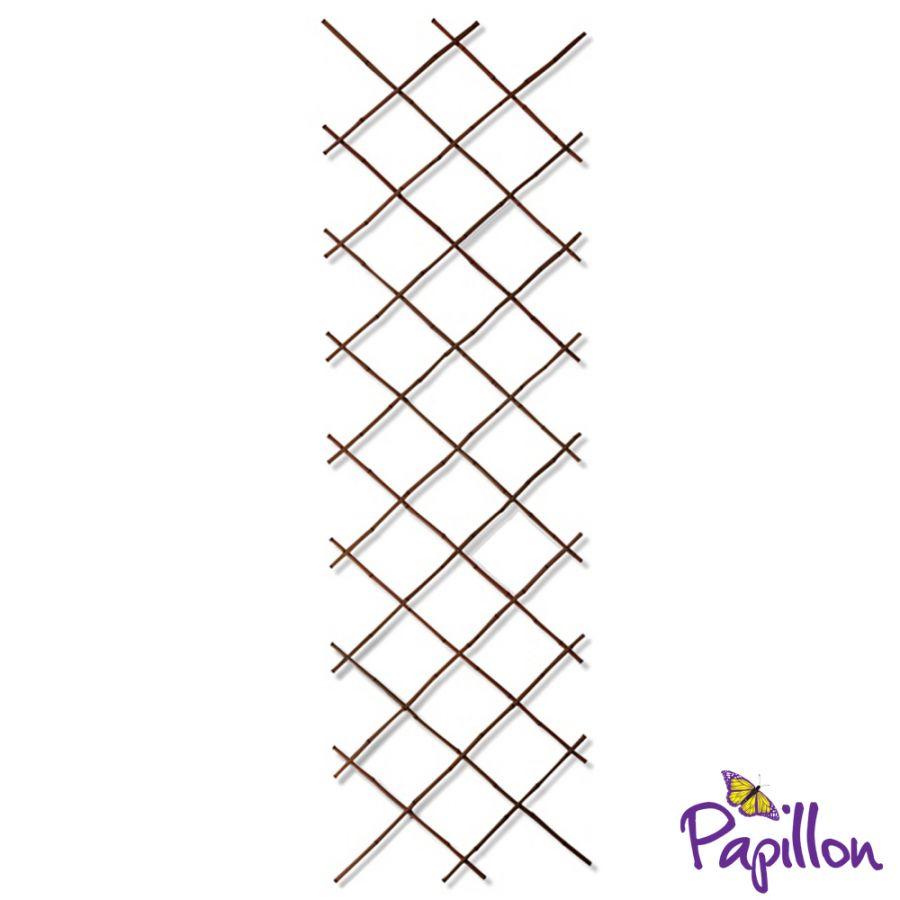 brise vue treillis extensible en bambou noir pour cl tures x par papillon 29 99. Black Bedroom Furniture Sets. Home Design Ideas