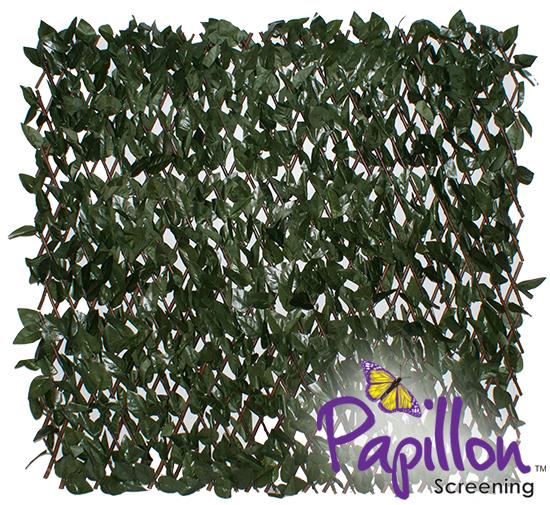 haie artificielle saule sur treillage extensible 1m x 2m papillon 39 99. Black Bedroom Furniture Sets. Home Design Ideas