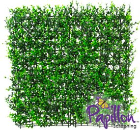 Haie Artificielle Carreau de Buis  50x50cm - par Papillon ™ Lot de 16 – 4m²