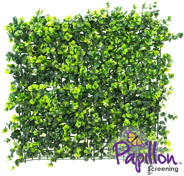 Haie Artificielle Carreau de Buis Foncé 50x50cm - par Papillon ™ Lot de 4 – 1m²