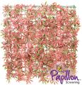 Haie Artificielle Carreau Erable Rouge 50x50cm - par Papillon ™ Lot de 8 – 2m²