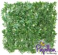 Haie Artificielle Carreau Erable Vert  50x50cm - par Papillon ™ Lot de 8 – 2m²