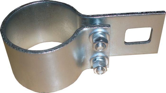 vraie affaire nouveau sommet doux et léger Collier de fixation galvanisé - pour poteaux de voile d'ombrage de 48 mm de  diamètre