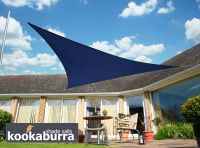 Voile d'Ombrage Bleu Triangle Rectangle 4,2m - Imperméable - 160g/m2 - Kookaburra