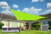 Voile d'Ombrage Vert Citron Rectangle 4x3m - Imperméable - 160g/m2 - Kookaburra