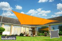 Voile d'Ombrage Orange Carré 3,6m - Imperméable - 160g/m2 - Kookaburra