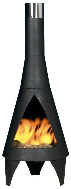 Cheminee D Exterieur En Acier Colorado M 125cm 145 99
