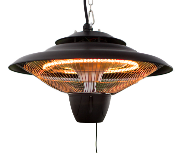 firefly chauffage ext rieur lectrique suspendu 1 5kw halog ne ip24 noir 69 99. Black Bedroom Furniture Sets. Home Design Ideas