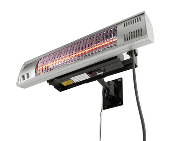 chauffage ext rieur lectrique t l commande ip55 118 99. Black Bedroom Furniture Sets. Home Design Ideas