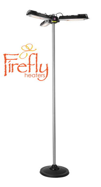 Firefly™ Pied pour Parasol Chauffant, H196.5cm