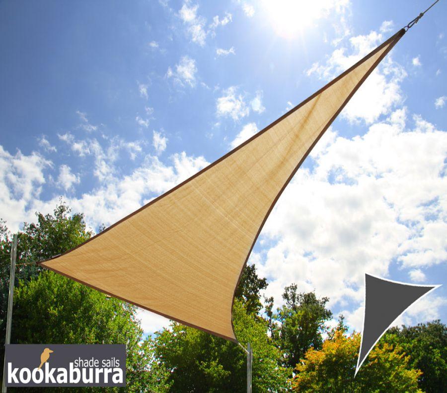 voile d 39 ombrage sable du d sert triangle rectangle 4 2m. Black Bedroom Furniture Sets. Home Design Ideas