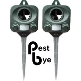 Répulsif Chat à piles PestBye® - Lot de  2