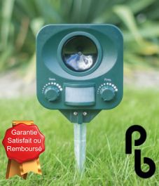 Répulsif Chats Solaire PestBye®