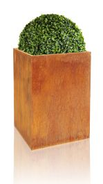 75cm Grand Cache-pot Acier Corten