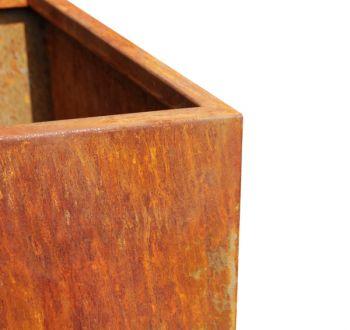 75cm grand cache pot acier corten 204 99. Black Bedroom Furniture Sets. Home Design Ideas