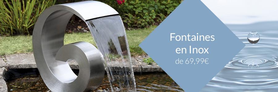 Fontaines en Inox, Murs d\'Eau et Fontaines Design