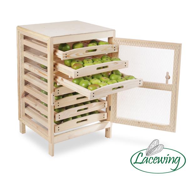 rack de rangement pour pommes traditionnel h91cm x l58. Black Bedroom Furniture Sets. Home Design Ideas