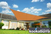 Voile d'Ombrage Terracotta Rectangle 4x3m - Ajourée - 320g/m2 - Kookaburra
