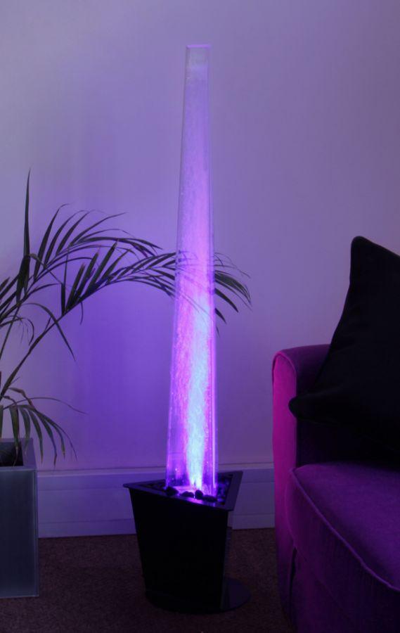 colonne bulles nirvana 1 30m vas e clairage et t l commande int rieur 149 99. Black Bedroom Furniture Sets. Home Design Ideas