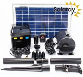 Kit Pompe Solaire LED - 800L/h par Solaray ™