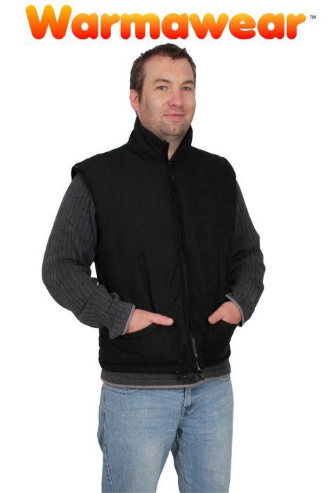 Gilet Chauffant Intégral Noir - Homme - Warmawear 34,99 € 0ee641cf22a
