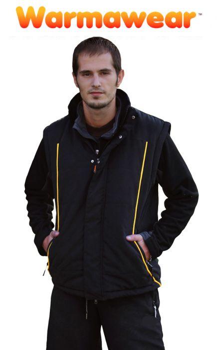 Gilet Chauffant Intégral Deluxe Noir - Homme - Warmawear 69,99 € 2695f3f2464