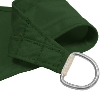 Voile d'Ombrage Vert Rectangle 4x3m - Imperméable - 160g/m2 - Kookaburra®