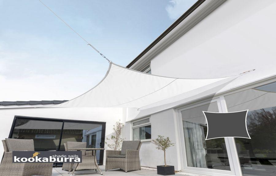 voile d 39 ombrage ivoire carr ajour e 185g m2. Black Bedroom Furniture Sets. Home Design Ideas