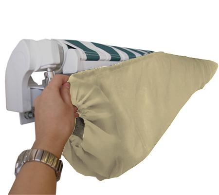 sac de protection pour store banne cr me 4m velcros 36 99. Black Bedroom Furniture Sets. Home Design Ideas