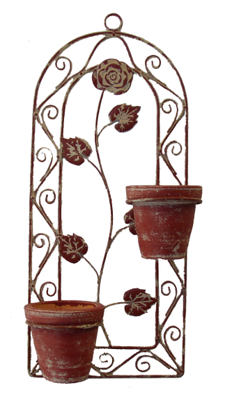 jardin cache pots de mur d 39 argile 29 99. Black Bedroom Furniture Sets. Home Design Ideas
