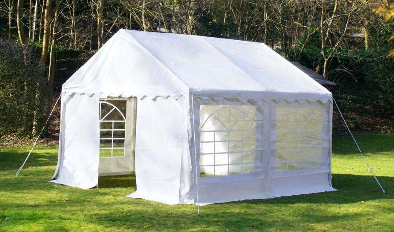 tente de r ception de luxe 3m x 4m blanche 469 99. Black Bedroom Furniture Sets. Home Design Ideas