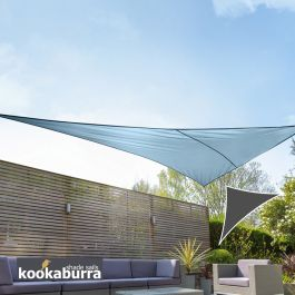 Voile d'Ombrage Azur Triangle Rectangle 4,2m - Imperméable - 160g/m2 - Kookaburra®