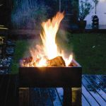 Barbecue / Brasero Style Table Basse
