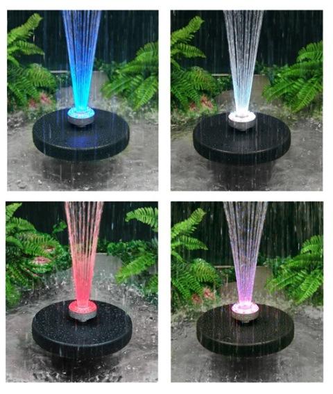 fontaine jet deau apollo clairage led couleurs changeantes - Jet D Eau Pour Bassin Exterieur