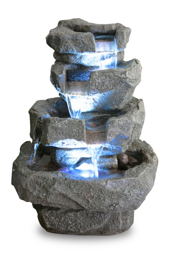 Fontaine d 39 int rieur shubunkin led zen et relaxation 79 99 - Fontaine d appartement zen ...