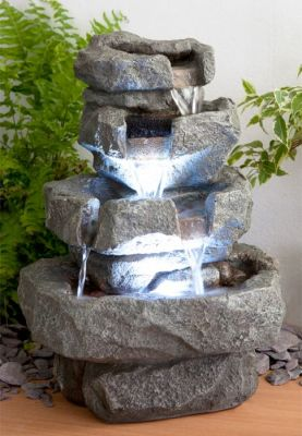 Fontaine d 39 int rieur shubunkin led zen et relaxation - Fontaine decorative d interieur ...